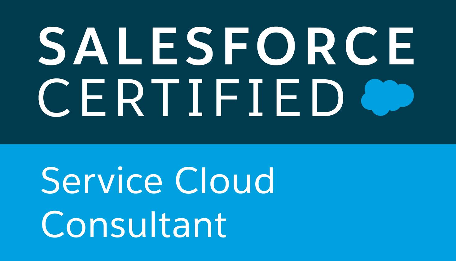 Service Cloud Consultant