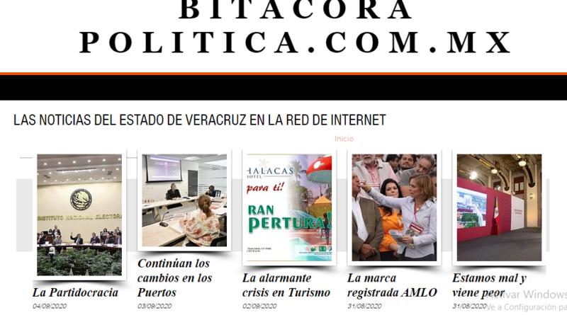 Bitácora Política / El Portal de Noticias de Veracruz en Internet