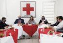 Ofrece Gobernadora Cuéllar Apoyo a la Cruz Roja