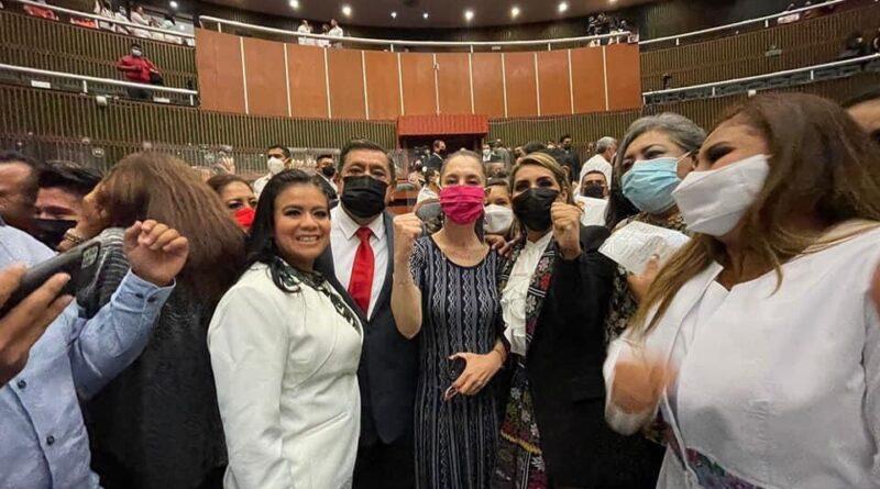 Rinde Protesta Evelyn Salgado Pineda como la Primera Gobernadora en la Historia de Guerrero