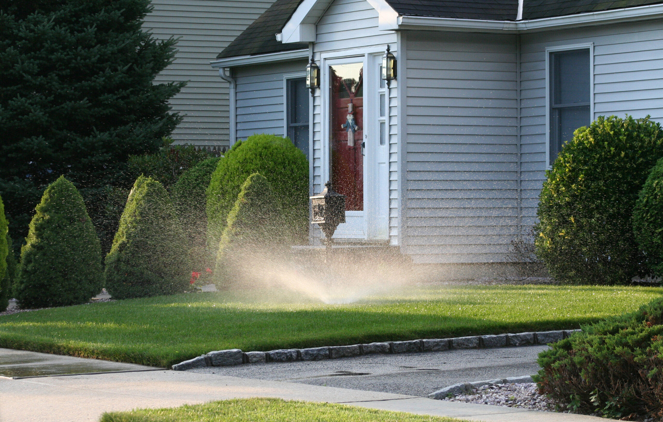 The Budd Group residential irrigation services in Charlotte