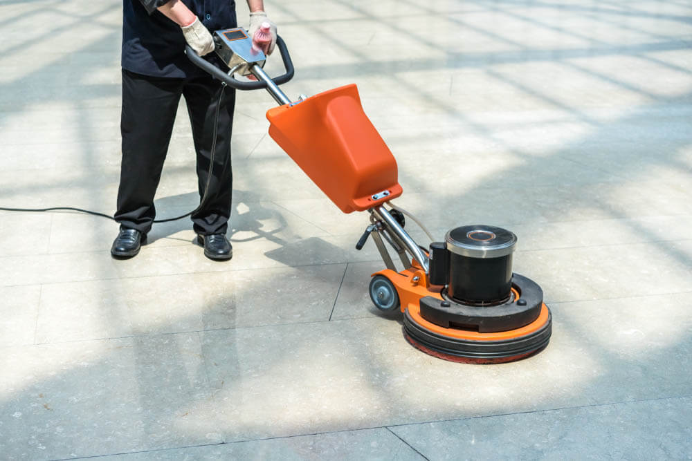 The Budd Group janitorial facility management floor cleaning