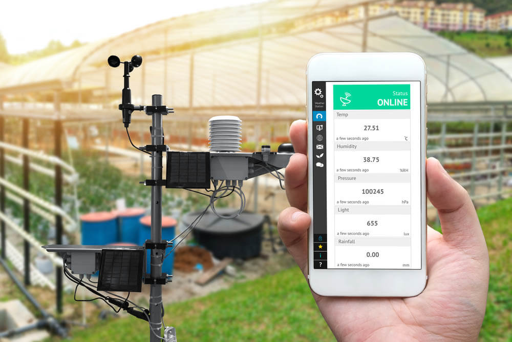 The Budd Group lawn maintenance service rain sensors