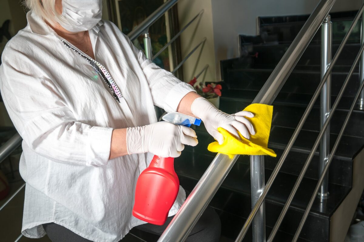Budd Group's deep disinfection services