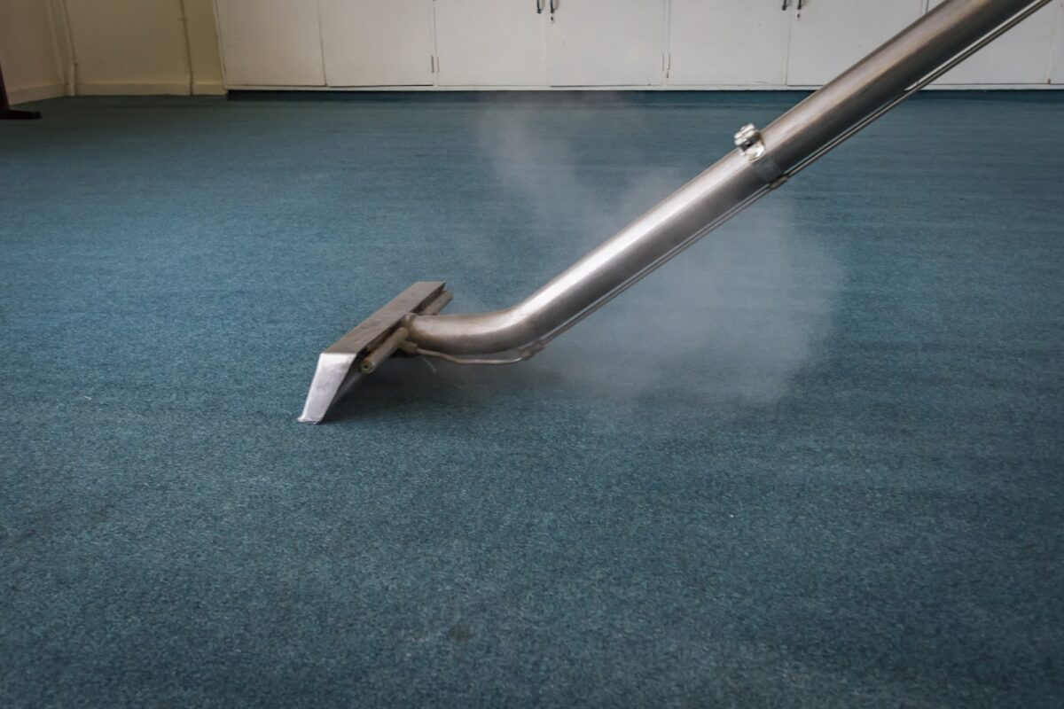 Carpet cleaning on a church's carpet