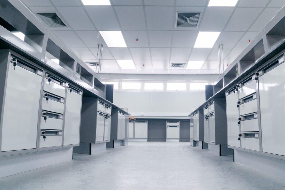 interior new lab room