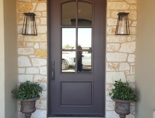 Custom Home Door