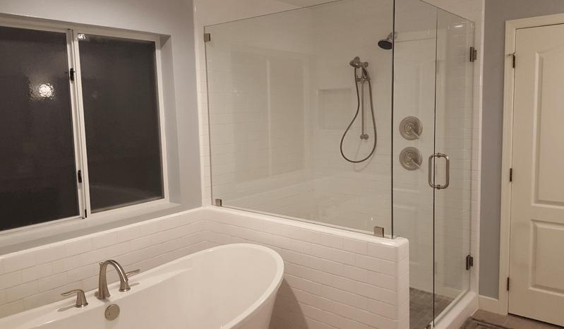 Shower Tub Bathroom Remodel