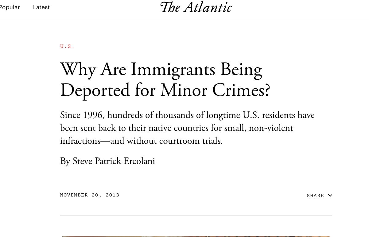 Roland's Story in the Atlantic