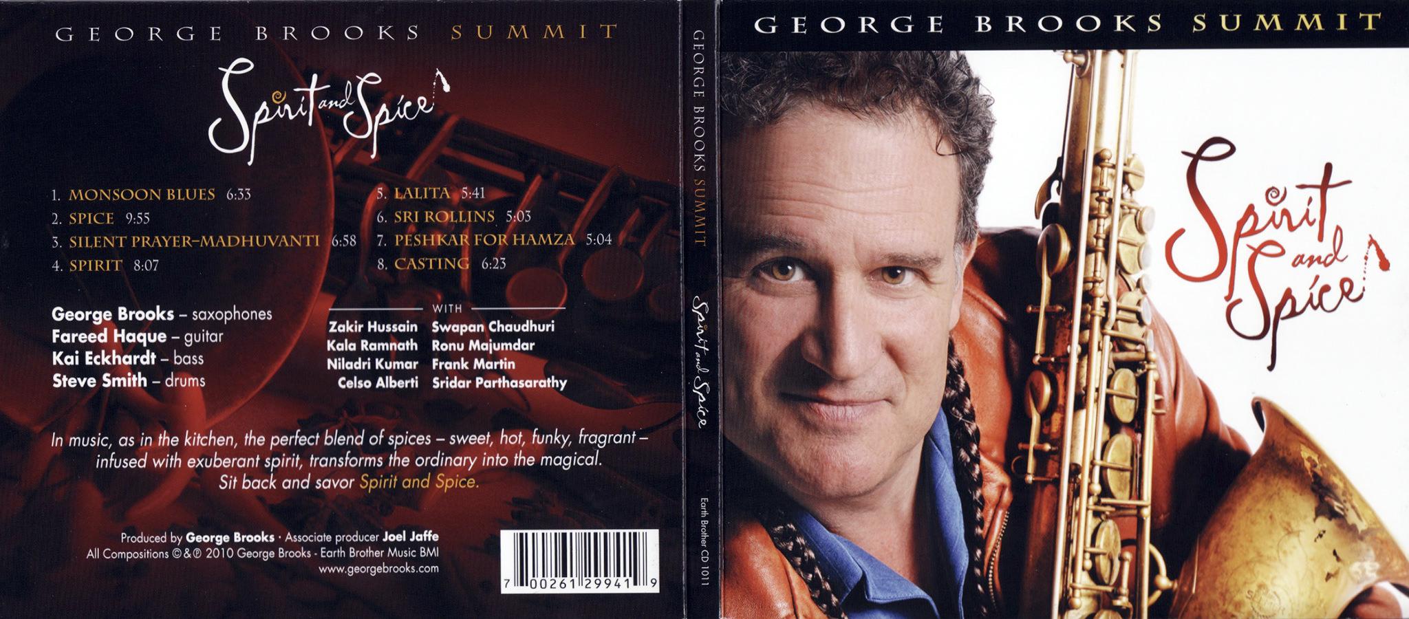 George Brooks, Spirit & Spice