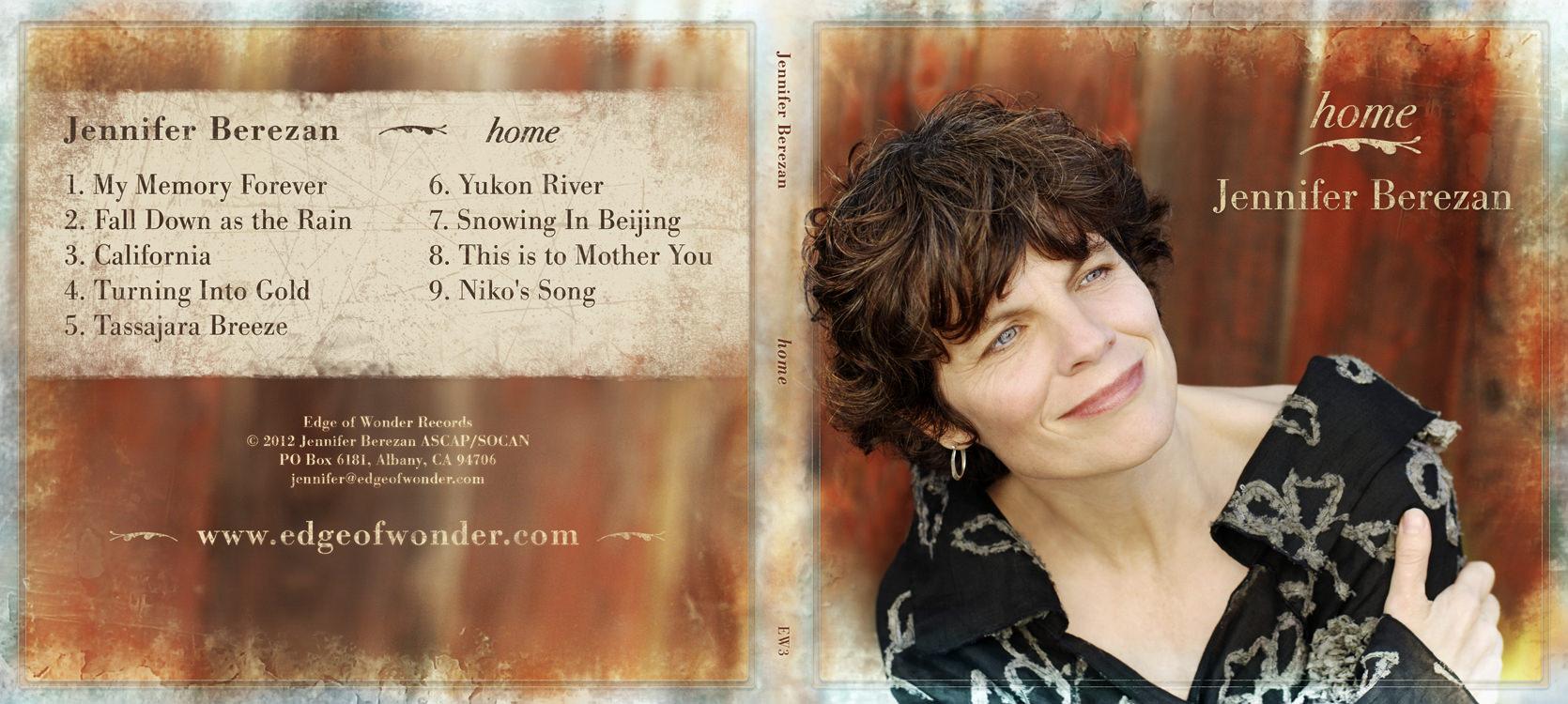 Jennifer Berezan, Home