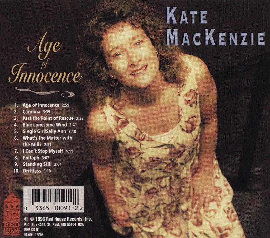 Kate MacKenzie, Age of Innocence