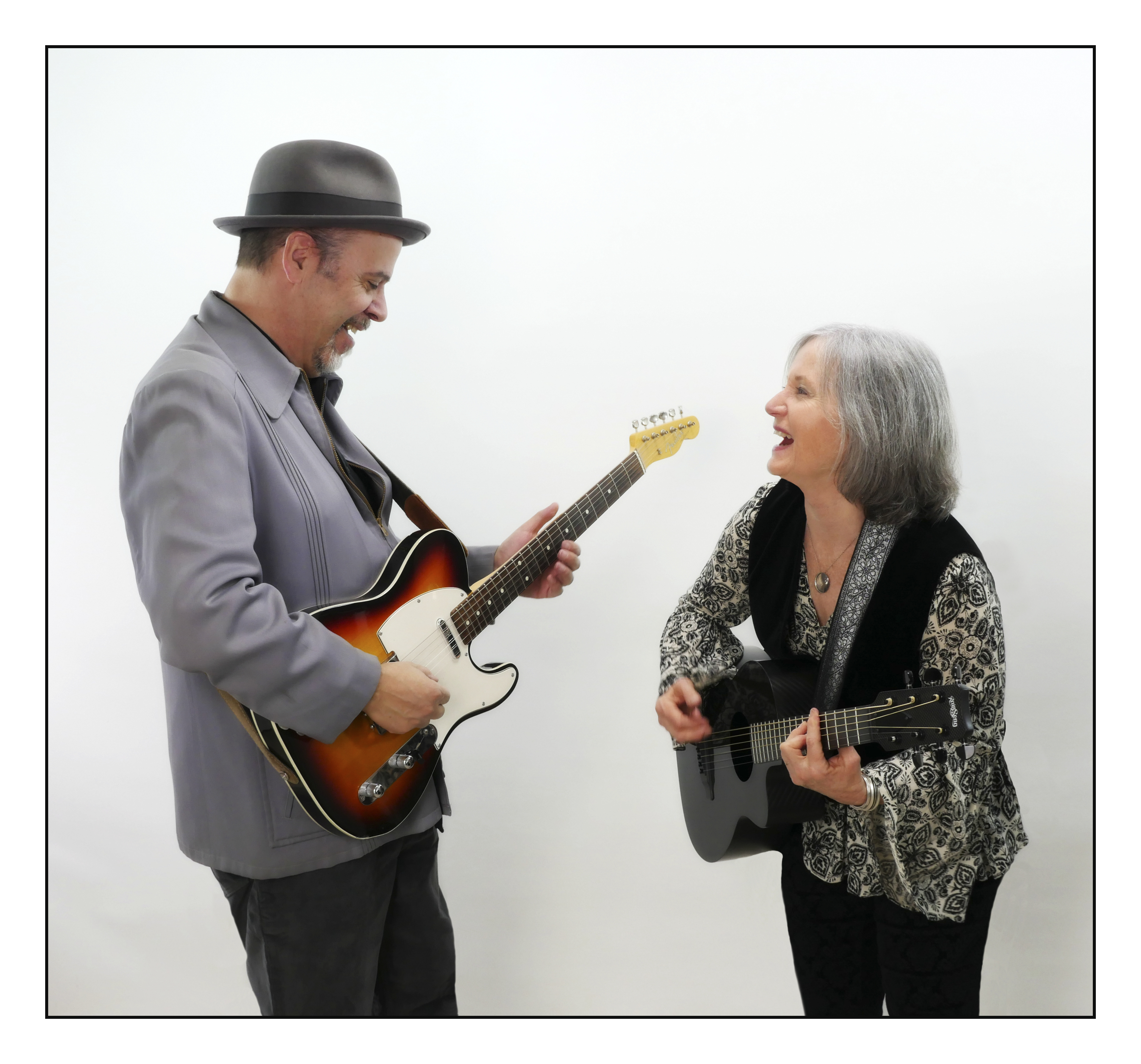 Claudia Russell and Bruce Kaplan, California