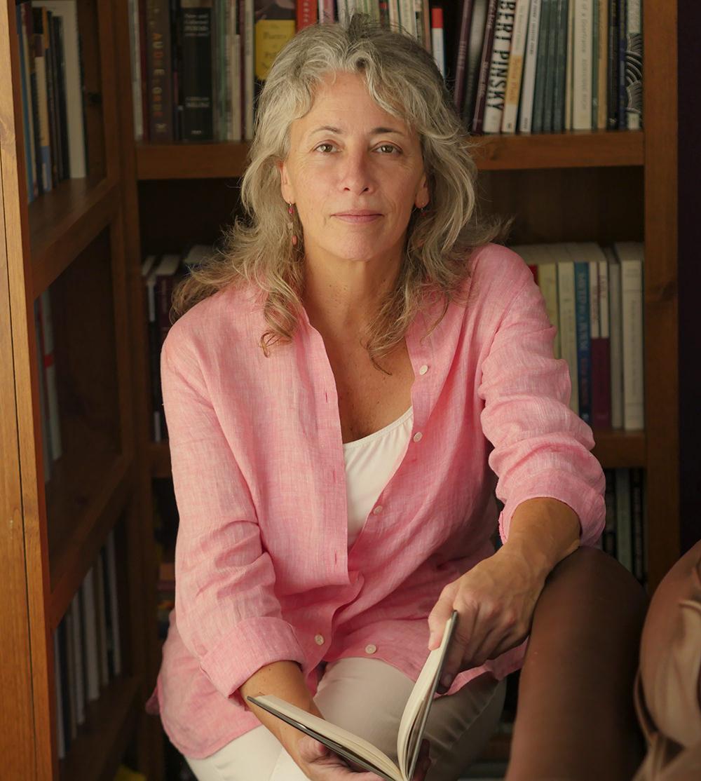Poet, Barb Reynolds, Oakland, CA