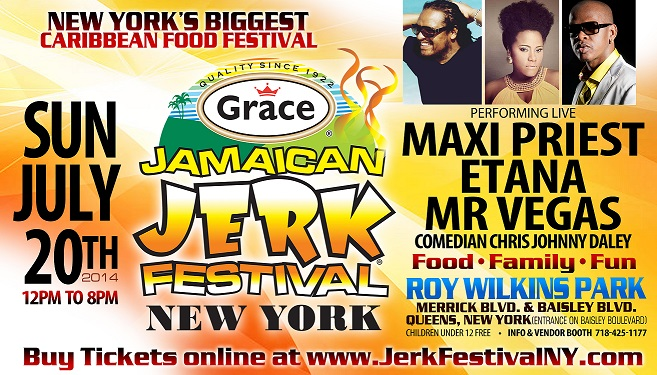 The Jamaican Jerk Festival - July 20th