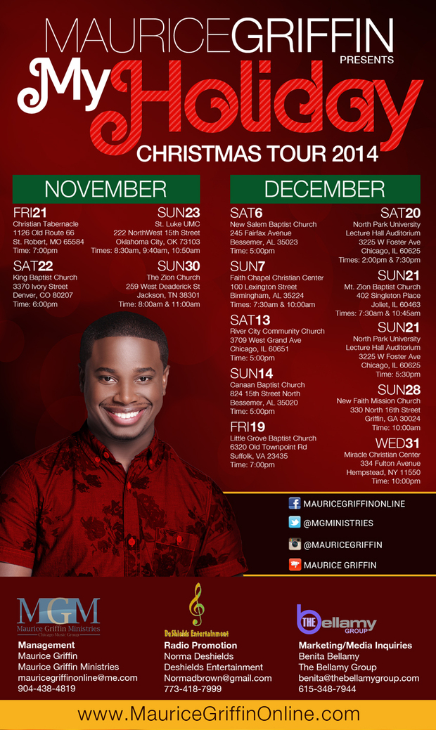Maurice Griffin - Holiday Tour