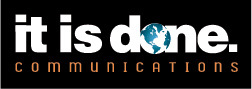it is done communications logo