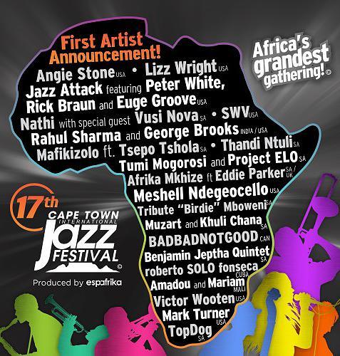 Cape Town Jazz Fest 2016