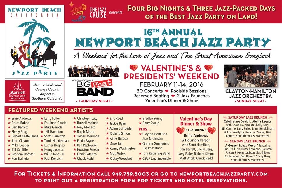 Newport Beach Jazz Party 2016 II