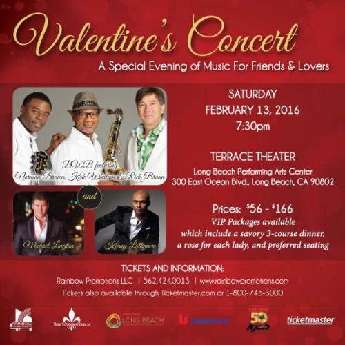Valentines Concert - Long Beach 2016