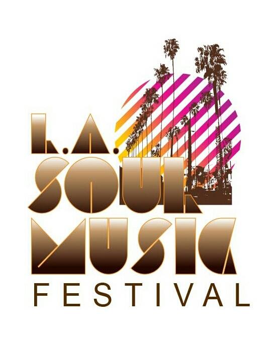 LASoul MusicFestival Brown on White logo