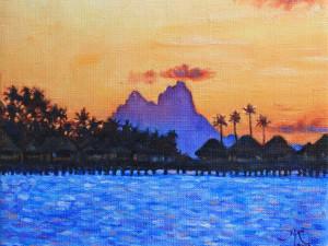 Bora Bora golden (mãre'are'a)
