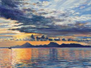 Silver Sunset Raiatea