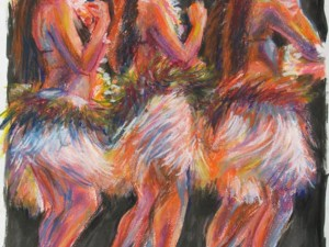 Danseuses more blanc