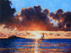 Sunset voilier