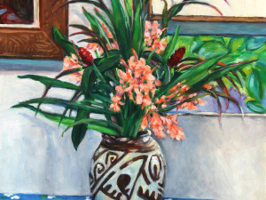 Bouquet Hedychium coccinium