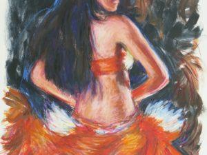 Danseuse more orange