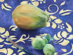 Papaye, laguiole, citron verts 2004