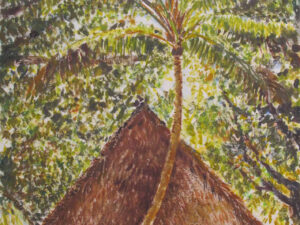 Fare sous le cocotier