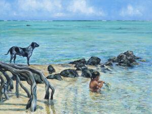 Pointe Matira. plage