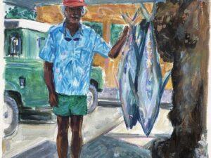 Ah-scha, pêcheur de Huahine