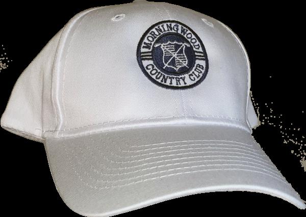 MWCC Logo Hat-White