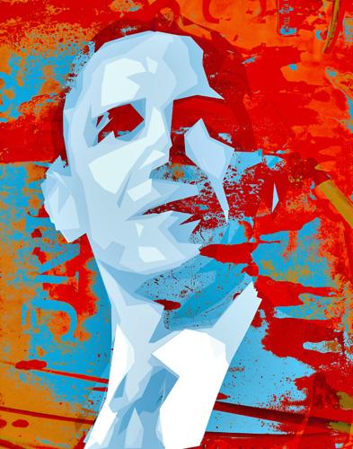 Obama - Ari Rosenthal Fine Art