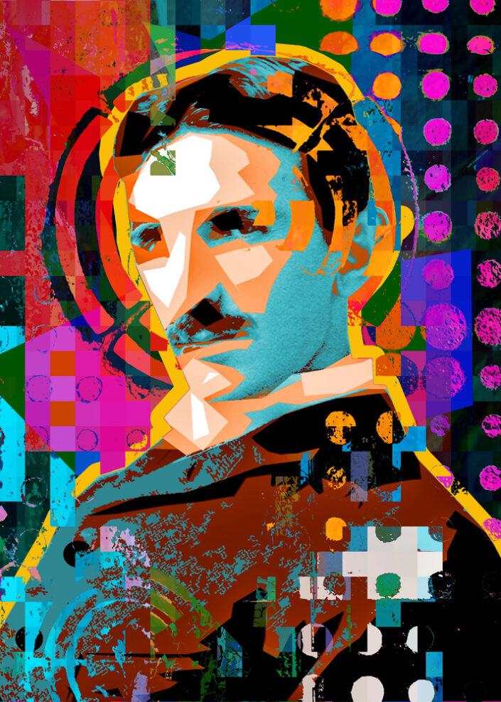 Tesla - Ari David Rosenthal Fine Art
