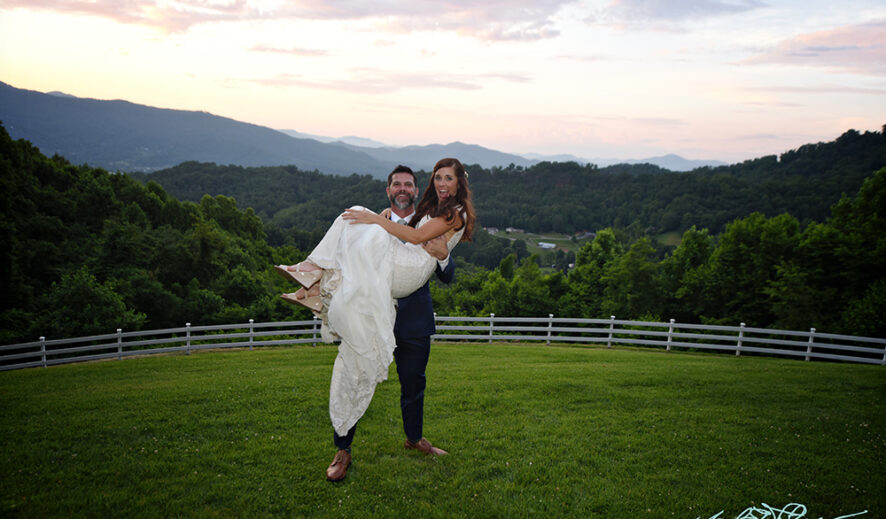 Meredith and Jeff at the Inn at Tranquility Farm