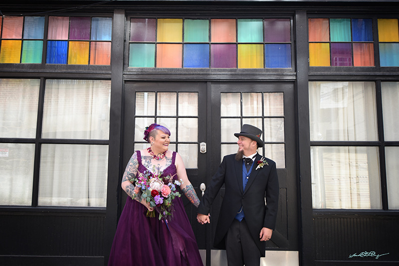 Sarabeth and Jeremy's Alice In Wonderland-Themed Wedding