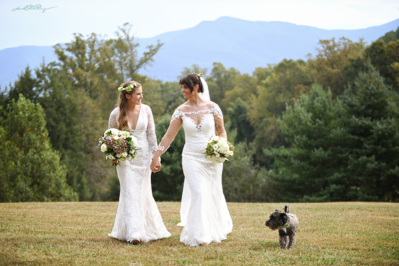 Lexie and Emily at Lake Eden Events