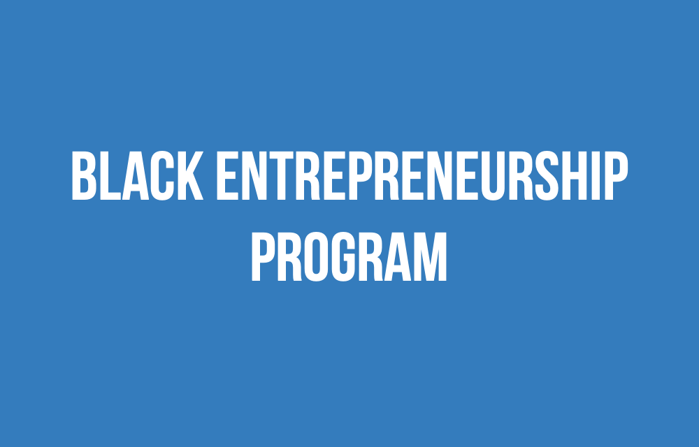Support for Black entrepreneurs and business owners