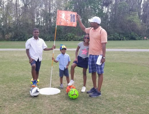 Fathers Day foot golf disney