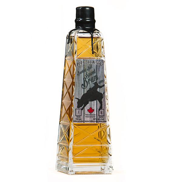 Rig Hand Bucking Bull Spiced Brum - Rig Hand Distillery