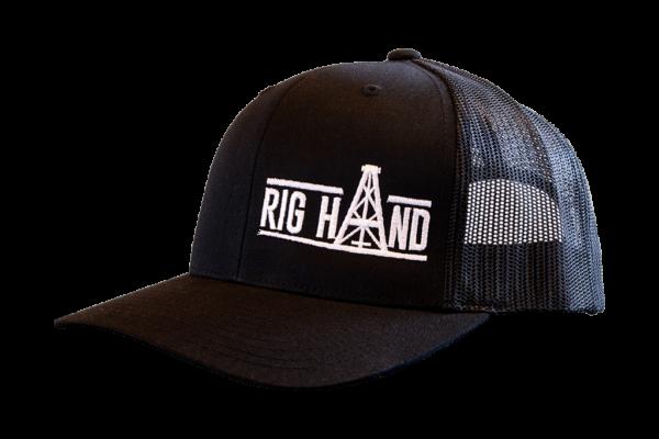 Black Brim Ball Cap - Rig Hand Distillery
