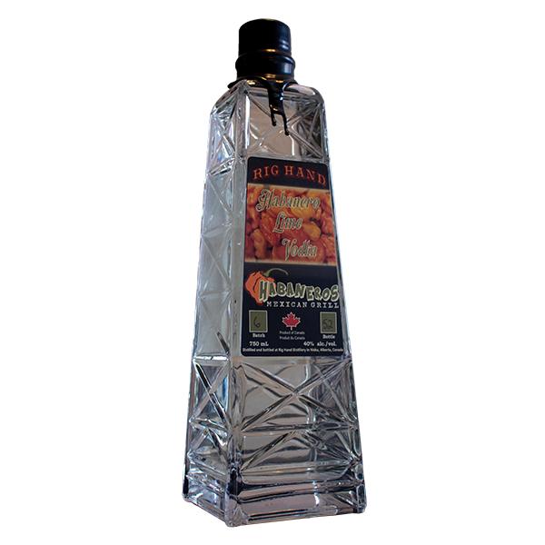 Rig Hand Habanero Lime Vodka - Rig Hand Distillery