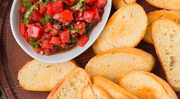 Menu - Homemade Dips Crostini