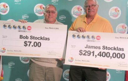 Judge Wins Nearly $300 Million in Florida Lottery, While Brother Gets Only $7