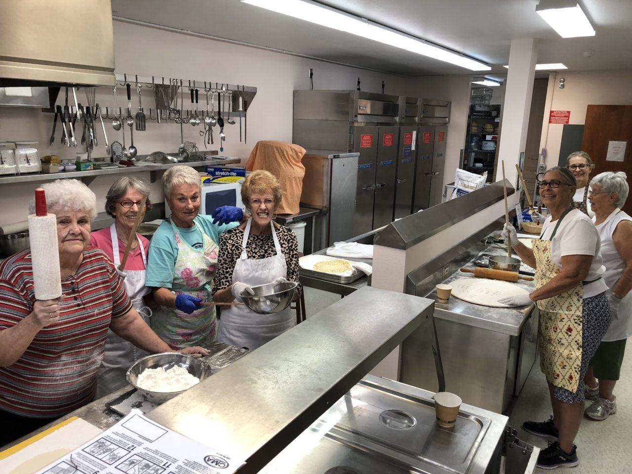 Making Lefse for the Holidaze Craft Faire Sweet Shoppe