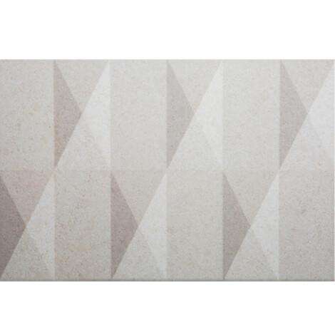 1017C Ivory:  Ceramic Decor Tile 20.0×30